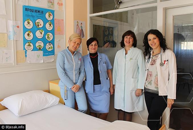 Stručni tim Klinike za dječje bolesti SKB Mostar